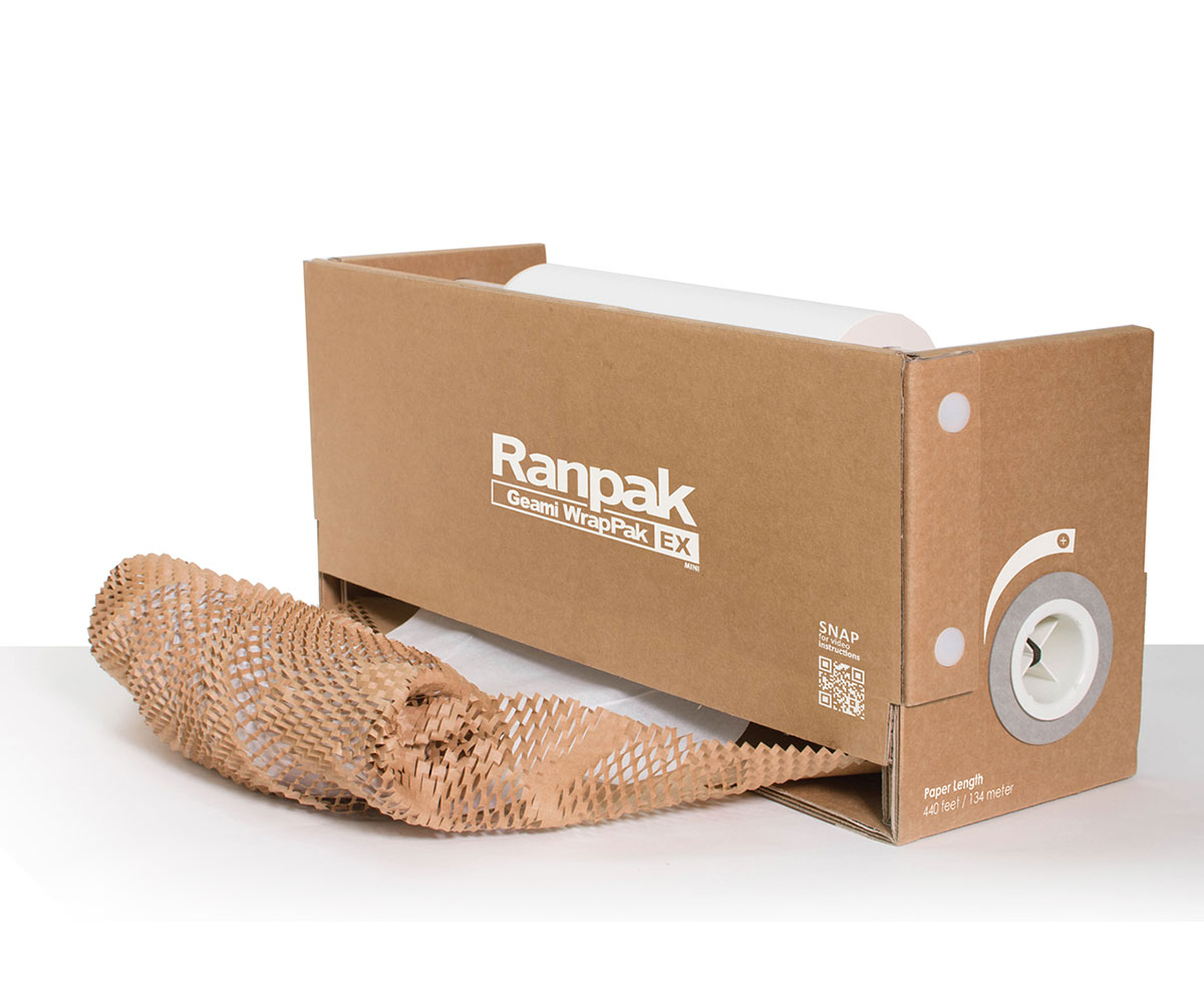 geami paper wrapping for sustainable packaging
