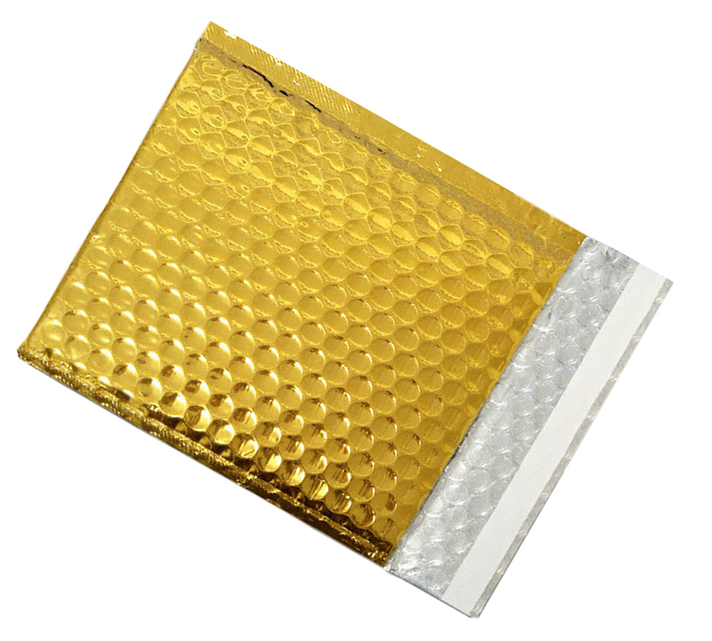 Coloured Bubble Envelopes Gold Packaging2buy
