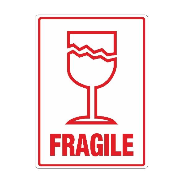 Fragile Self Adhesive Labels Packaging2buy Fragile