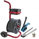 pallet strapping kit with trolley