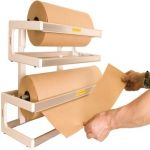paper roll holder & paper dispenser
