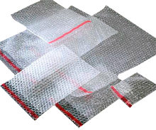 aircap bubble bags with self seal strip