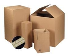 double wall cardboard boxes for packing & shipping