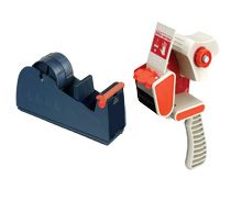 desktop & handheld packing tape dispensers