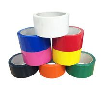 coloured adhesive polypropylene packing tape