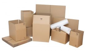 small moving kit & accessories with moving boxes