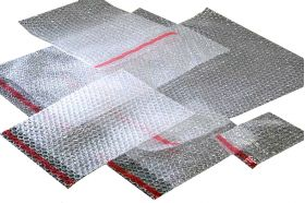 bubble wrap pouches with self seal strip
