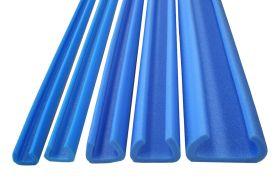 foam edge protection with u or tulip profile