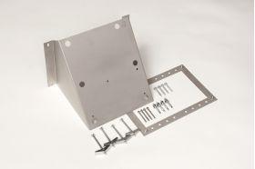 wall mount bracket for mini pak'r machine