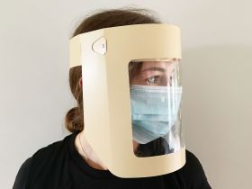 adjustable full face shields for personal protection