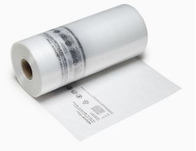 small air cushioning protection on a roll