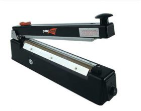 portable heat sealer with cutter for polythene bags