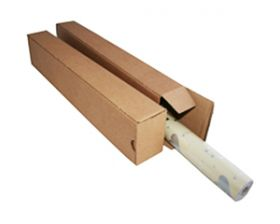 single wall cardboard packing box