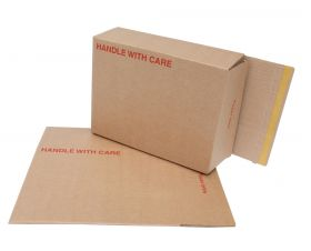 cardboard mailing boxes self seal