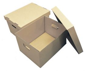 archive boxes & document storage boxes with lids
