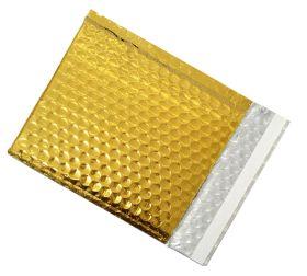 coloured bubble envelopes gold bubble bags