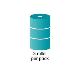 rolls of small bubble aircap bubblewrap