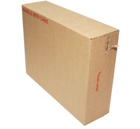 self seal cardboard postal boxes