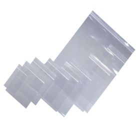 heavy duty resealable polythene bags
