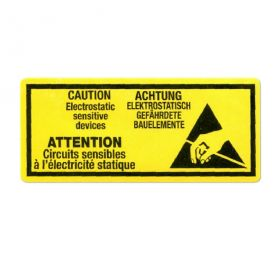 self-adhesive anti static sticky labels on roll