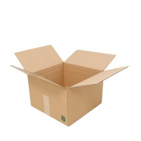 multi depth cardboard boxes made from sustainable materials