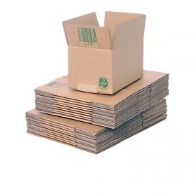 biodegradable single wall boxes for sustainable packaging