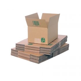 biodegradable single wall boxes for eco-friendly packaging