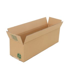 These eco friendly cardboard boxes are perfect for storing heavy or fragile items.