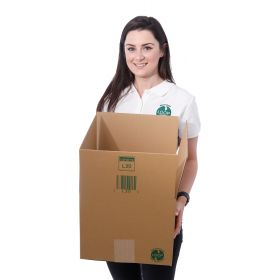 recyclable sustainable packaging boxes in corrugated cardboard