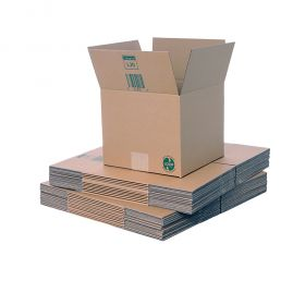 recyclable sustainable packaging boxes in recycled cardboard