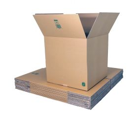 eco-friendly cardboard boxes for packing, shipping or storage