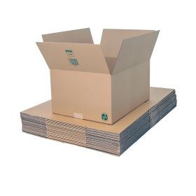 eco-friendly packaging boxes in single wall cardboard