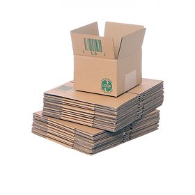 eco-friendly single wall boxes for sustainable packaging