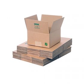 eco-friendly single wall boxes for biodegradable packaging