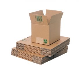 eco-friendly single wall boxes for shipping or storage