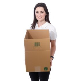 environmentally friendly boxes in recyclable corrugated cardboard