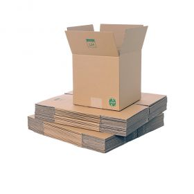 environmentally friendly boxes in single wall cardboard