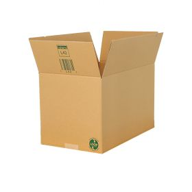 environmentally friendly single wall boxes are the sturdy strong shipping & packing solution for a wide range of items