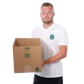 environmentally friendly cartons in single-walled corrugated cardboard