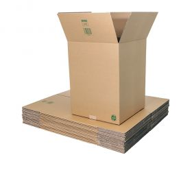 environmentally friendly double wall boxes made of biodegradable packaging materials