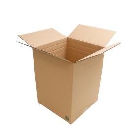 environmentally friendly double wall boxes are ideal biodegradable packaging materials for packing heavy or fragile goods