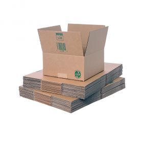 environmentally friendly single wall boxes use sustainable packaging materials