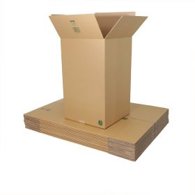 use recyclable double wall boxes as biodegradable packaging