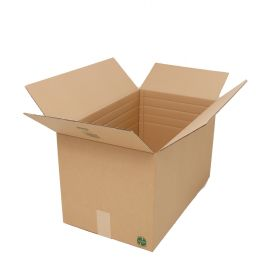 These recyclable double wall boxes are ideal for storing or packing fragile or heavy items being extra strong