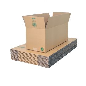sustainable double wall boxes in recycled recyclable cardboard