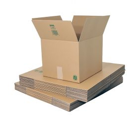 sustainable single wall boxes use biodegradable packaging materials