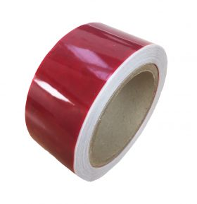 red tamper evident security packing tape