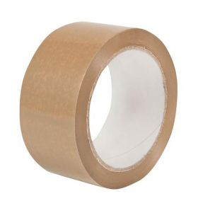 vinyl brown low noise packing tape