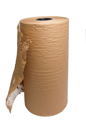 geami brown paper roll eco friendly packaging