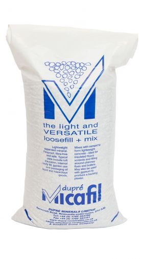 expanded vermiculite loose fill & void fill